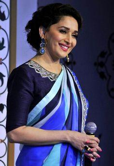#MadhuriDixit at Taj Mahal event in Delhi. (JUNE 12,2014)