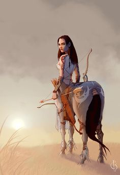CENTAURS - One of a race of monsters having the head, arms, and ...