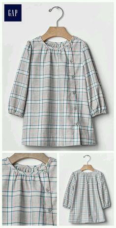 Plaid button-front dress Source by Stylish Dresses For Girls, Frocks For Girls, Kids Frocks, Dresses Kids Girl, Kids Outfits, Girls Dresses Sewing, Diy Clothes, Clothes For Women, Pakistani Dresses Casual