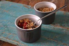 Mijn kookavonturen: Bosvruchten crumble ontbijt uit 'Puur Eten' Pascale Naessens