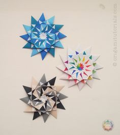 Origami 12-Pointed Star | Origami Tutorials