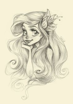 Darko Dordevic — My fast sketchy illustration of the cutest mermaid...: