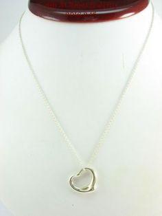 Estate-Tiffany-Co-Sterling-Silver-925-Elsa-Peretti-Open-Heart-Pendant-16