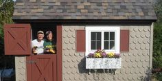 "We're going to file this father-son duo under ""world's best family."" Why? Because the pair spent five weeks of the summer building a she shed from scratch for the lady of the house!"