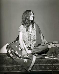 Patti Smith Because the Night
