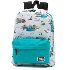 vans backpack mint green