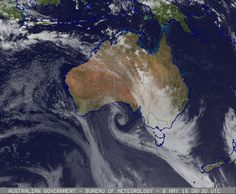16:30 AEST  on Sunday  8 May 2016   Cloud/surface composite, Australia