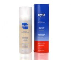 #Eyre Biobotanics Triple Action Facial Scrub - Lifts away dead #skin cells, restores smooth and radiant complexion. Promotes healthy cell renewal and prepares face for a closer #shave . Helps stimulate micro-circulation to promote healthy cell regeneration and collagen production. It restores natural pH levels and combats #blackheads