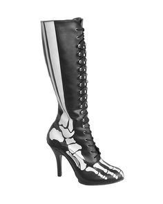 d9ce3c1b4b Demonia Spooky Bones Xray 220 Boots Heel Skeleton Glow in Dark Gothic  Vampire in Clothing, Shoes, Accessories, Women's Shoes, Boots. Tragic  Beautiful