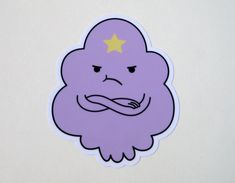 Lumpy Space Princess Sticker by PincosDesigns on Etsy, $2.00