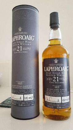 Laphroaig 21 : Whisky #bottlespot