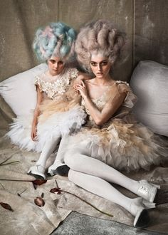 Fashion that Takes You Back - Rococo, Marie Antoinette Rocking Baroque