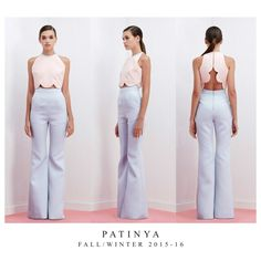 PATINYA RTW, FW2015-16 Collection. Look 26 : Nantes top Size: Freesize Color: Blue, Pink, White Fabric: Pique  Henley pants Size: Made to order Color: Blue, White Fabric: Pique @patinya_official @guitarpatinya www.patinyabkk.com #patinya #patinyaofficial #patinyabkk #fashion #dress #dresses #THAIDESIGNERS #theoptimisticvibes