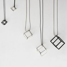 CUBE necklace S
