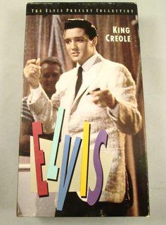 King Creole (VHS, 1986) Elvis Presley 1958 Film Movie b/w Vintage Music Rock $9.99 #ElvisMovies#ElvisFilm#Elvis#VHStape#freeshipping