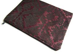 Dark purple damask zipper 13 sleeve MacBook Air 13 by StudioSleeve, $28.00