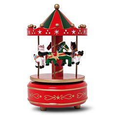 Gra muzyka, karuzela idzie w ruch, koniki próbują capnąć ogon poprzednika. Karuzela z pozytywką i pyszna zabawa. #tigerstores #tigerpolska #tigerxmas #święta #ozdobyświąteczne #christmasinspiration #gift #prezent #zima #winter #grudzień #december #christmas #karuzela #carousel