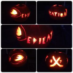 Can't think of a good word to describe all the time and effort this Ducks fan put into her pumpkin carving...