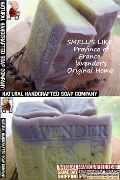 FRENCH SOAP All Natural Cold Process Soap | Handmade Soap | FRENCH SOAP. -Handwashing: Clean Hands Save Lives ... French Scented Soap- Province French lavender's -Organic French Soap - Natural French from The Province of France. Made With Ingredients Your Skin Loves! #Frenchsoap #handwashing #lavender #Province #FrenchProvence Lavender Soap, French Lavender, French Soap, Soap Company, Cold Process Soap, Handmade Soaps, Rose Petals, Soap Making, Artisan