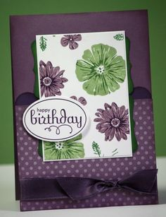 lovely card - SU Greenhouse Garden stamps.  from Alisa Tilsner