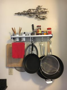 Genial Amazon.com: Customer Reviews: Plumeet Multifunctional Aluminum Wall Hanging Kitchen  Rack With Shelves