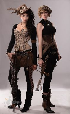 Steampunk Costume Ideas - 30 Creative DIY Steampunk Costumes - some of these are a bit intense, but nice to check out for some of the creativity!