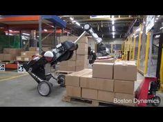 Watch this satisfying video of Boston Dynamics' new robot perfectly stacking boxes Latest Robots, Boston Dynamics, Autonomous Robots, Pallet Building, Satisfying Video, Robot Design, Science And Technology, Technology News, Einstein