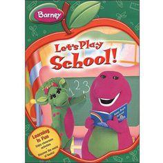 Barney: Let's Play School - Back To School (Full Frame)