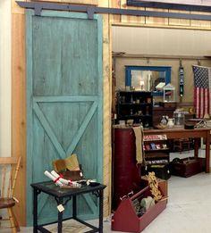 Image result for vintage teal reclaimed wood