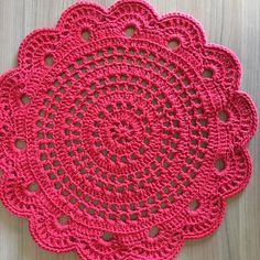 Crochet Circle Pattern, Free Crochet Doily Patterns, Crochet Coaster Pattern, Crochet Placemats, Crochet Doily Diagram, Crochet Table Runner, Crochet Circles, Crochet Mandala, Crochet Squares