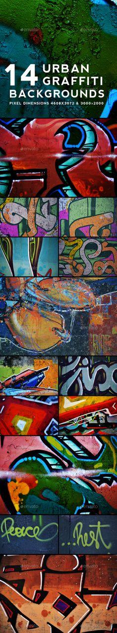 Urban Graffiti #Backgrounds v7 - Urban Backgrounds Download here: https://graphicriver.net/item/urban-graffiti-backgrounds-v7/20054878?ref=alena994