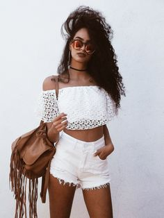 Imagem Short Outfits, Summer Outfits, Girl Outfits, Casual Outfits, Cute Outfits, High Fashion Poses, Selfies Poses, Cute Fashion, Womens Fashion