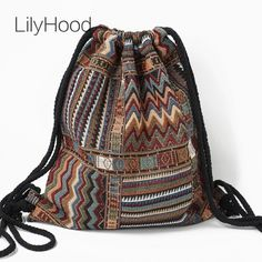 4ddcda16d0ce Boho LilyHood Women Fabric Backpack Price: 20.55 & FREE Shipping #LIKE IT &  SHARE · Vintage BackpacksBohemian bagBoho ...