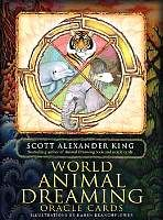 World Animal Dreaming Oracle Cards Were Created By Scott Alexander King Leading Author On