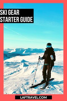 Your complete guide to ski gear - what to wear skiing and snowboarding on the slopes and in the mountains. Learn how to pick the best material for base layers, insulation, and shell to protect you from the elements. What helmet I recommend and what ski goggles I use in different conditions. #skiingandsnowboarding #wintertravel #skiresort #coloradotravel #skigear Zermatt, Colorado Springs, Val D'isère, Asia, Colorado Winter, Ski Gear, Best Skis, Adventure Photos, Vacation