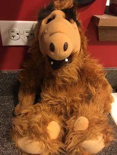 "ALF TV Show 1986 Coleco 18"" Stuffed Animal Plush - Alien Productions #Coleco  SOLD!"