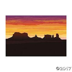 Western Desert Backdrop