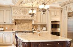 Gorgeous Ornate Old World Kitchen, WL Interiors