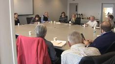 At a round table discussion held at the Island Institute in Rockland, Congresswoman Chellie Pingree says that Maine's lack of broadband access