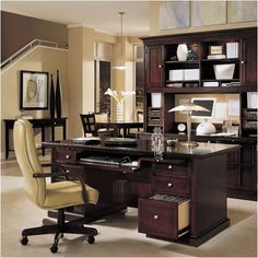 Luxury Home Office Furniture Design of Umber Collection by Sligh ...
