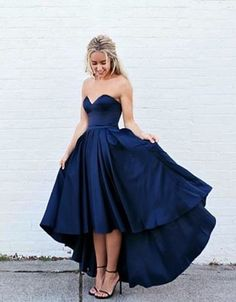 party dresses,royal blue prom dresses,hi-lo prom dresses,party dresses,sweetheart party dresses,royal blue party dresses,fashion,women fashion,vestidos
