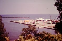 1982 Barcelona Bay, Pier, Westfield NY and Lake Erie