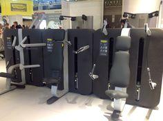 Voici les machines Technogym de Cardio Training pour le Cercle Nation, ouverture Mai 2013 www.cerclesdelafo... #cardio #technogym