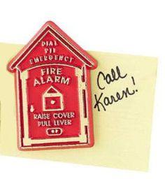 911 Fire Alarm Box Magnets