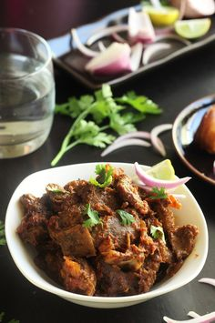 Bhuna Gosht Recipe-A simple mutton curry which is made by roasting the mutton till tender.