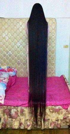 ChinaLongHair Forum-Long Hair Photos-Xia Kuanlei's 2.4 meters long hair photo for 2014 new year