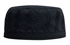 """Unique 3.5-inch double layer re-enforced intricately embroidered cotton kufi hat. Embroidery pattern design my differ with each size and may be different from pattern in photo. rom photo shown. Very limited quantity available.       Famous Words of Inspiration...""""The ear is..."""