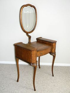 $575 vanity ebay Antique Quartersawn Oak Vanity Dresser | eBay