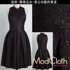 ★モドクロス modcloth 結婚式 シンプル ペイズリー ワンピース ドレス 2016 レトロ ファッション テイラースイフト