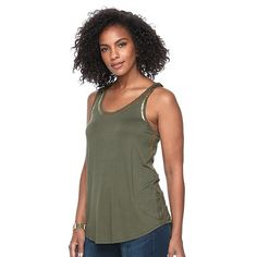 Women's Apt. 9® Foil Graphic Tank  14.99